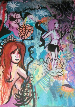 art with Hollyanda Drake