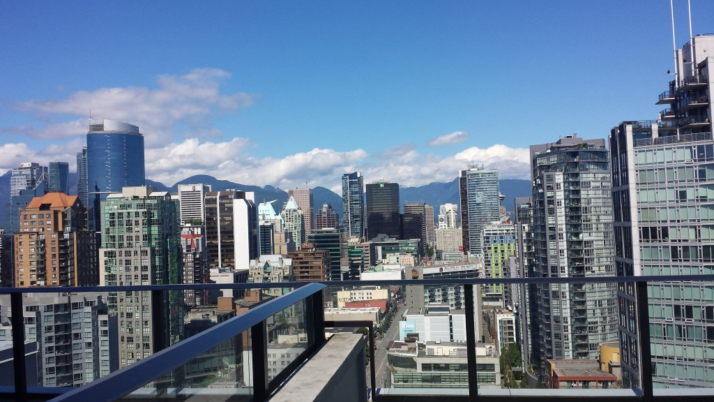 Skyline of Vancouver, Canada
