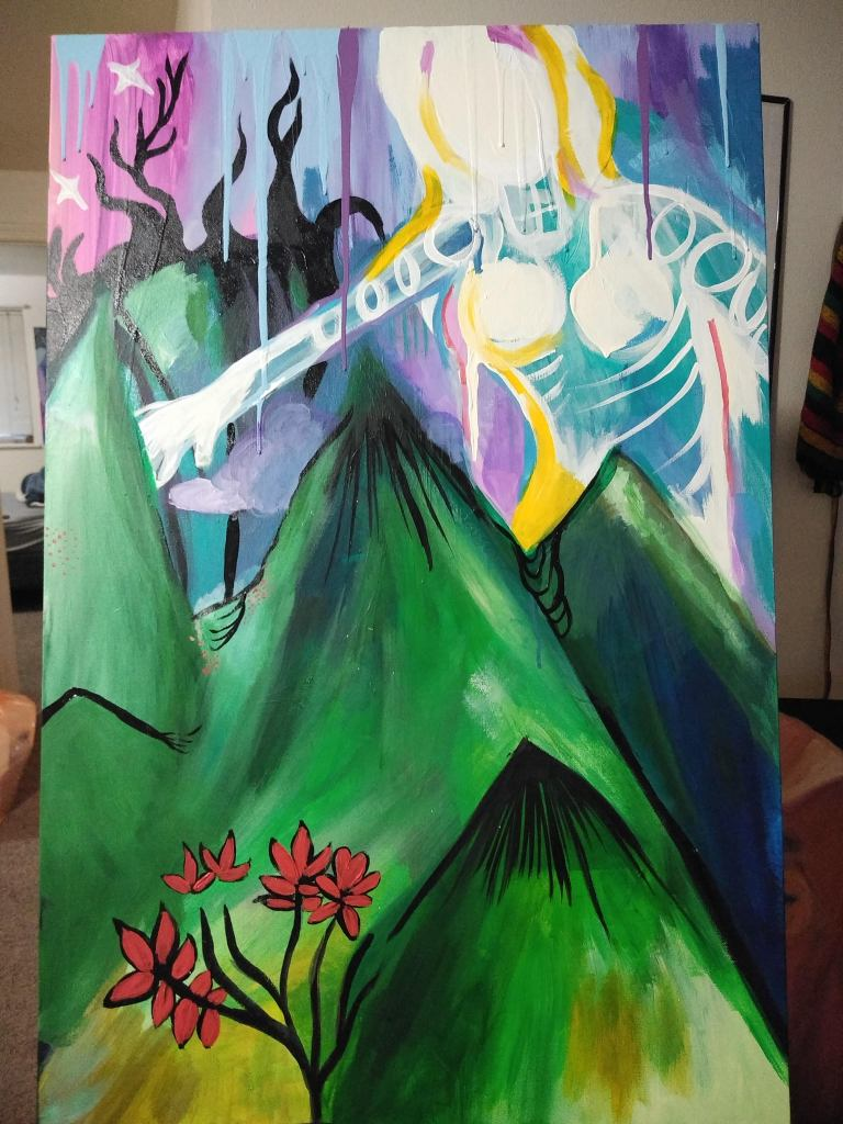 Mountain Protector Painting